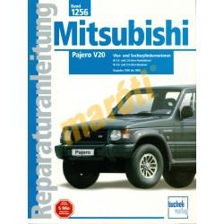 Mitsubishi Pajero V20 (Javítási kézikönyv)