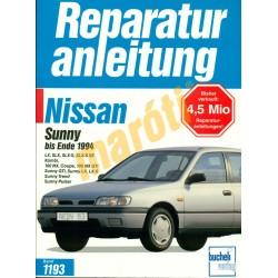 Nissan Sunny 1994-től (Javítási kézikönyv)