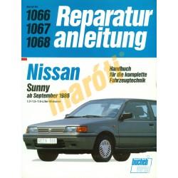 Nissan Sunny 1986-tól (Javítási kézikönyv)