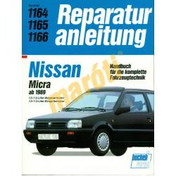 Nissan Micra 1989-től (Javítási kézikönyv)