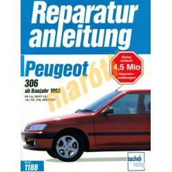 Peugeot 306 1993-tól (Javítási kézikönyv)