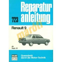 Renault 9  (Javítási kézikönyv)