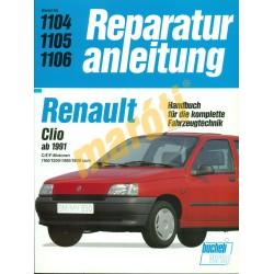 Renault Clio  (Javítási kézikönyv)