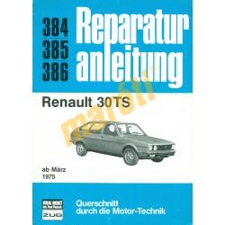 Renault 30TS (Javítási kézikönyv)
