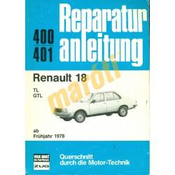 Renault 18  (Javítási kézikönyv)
