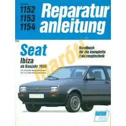Seat Ibiza 1986 -től (Javítási kézikönyv)