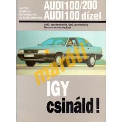 Audi 100, 200 (1982-1990) (Javítási kézikönyv)