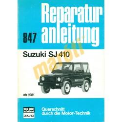 Suzuki SJ410  (Javítási kézikönyv)
