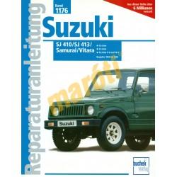 Suzuki Samurai Vitara (SJ 410/SJ413) (Javítási kézikönyv)