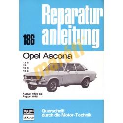 Opel Ascona 1970 - 1975 (Javítási kézikönyv)