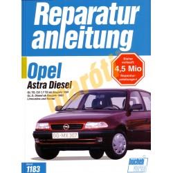 Opel Astra Diesel 1991-től (Javítási kézikönyv)