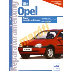 Opel Corsa (Limusine és Combo) 1997 - 2000 (Javítási kézikönyv)