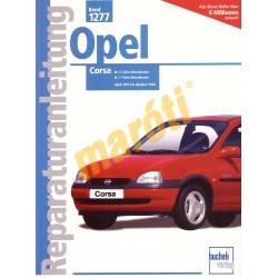 Opel Corsa 1997 - 2000 (Javítási kézikönyv)