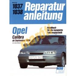 Opel Calibra 1989-től (Javítási kézikönyv)