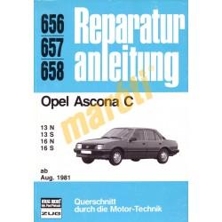 Opel Ascona C 1981-től (Javítási kézikönyv)