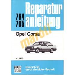 Opel Corsa 1983-tól (Javítási kézikönyv)