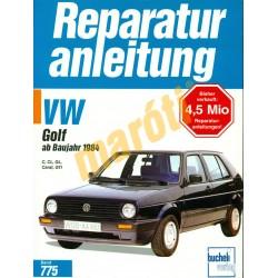 Volkswagen Golf 1984-től (Javítási kézikönyv)