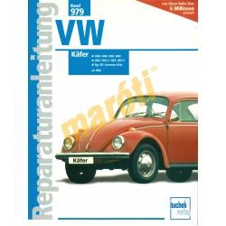 Volkswagen Käfer (Bogár) 1968-tól (Javítási kézikönyv)