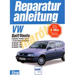 Volkswagen Golf, Vento (Javítási kézikönyv)