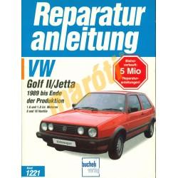Volkswagen Golf II, Jetta 1989 végéig (Javítási kézikönyv)
