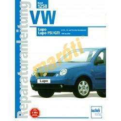 Volkswagen Lupo (Javítási kézikönyv)
