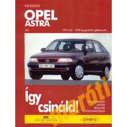 Opel Astra (1991-1998) (Javítási kézikönyv)