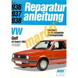 Volkswagen Golf 1986-tól (Javítási kézikönyv)