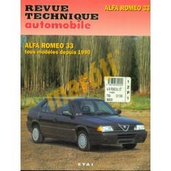 Alfa Romeo 33 1990-től (Javítási könyv)