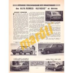 Alfa Romeo Alfasud (Javítási könyv)