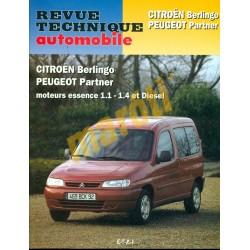 Citroen Berlingo Peugeot Partner moteurs essence 1.1 - 1.4 et Diesel (Javítási könyv)