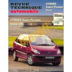 Citroen Xsara Picasso Diesel, Diesel Hdi (Javítási könyv)