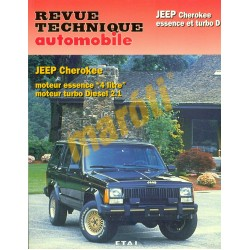 Jeep Cherokee essence et turbo Diesel (Javítási könyv)