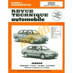 Nissan Primera moteurs 1,6 ess. Et 2,0 D (Javítási könyv)