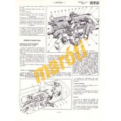 Peugeot 304 Diesel Berline, Break et Fourgonnette (Javítási könyv)