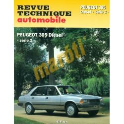 Peugeot 305 diesel série 2 (Javítási könyv)