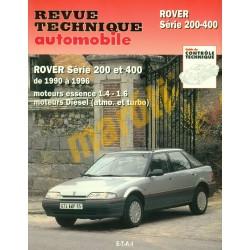 Rover serie 200-400 1990 - 1996 (Javítási könyv)