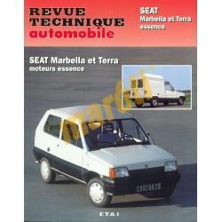 Seat Marbella, Seat Terra benzines modellek (Javítási könyv)