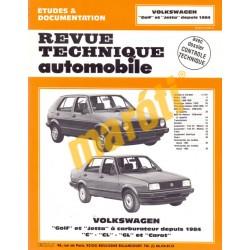 Volkswagen Golf, Volkswagen Jetta (Javítási könyv)