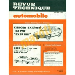 Citroen BX Diesel, Ford Escort, Ford Orion