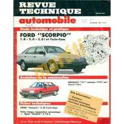 Ford Scorpio, Renault 21