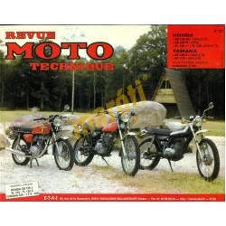 Honda CB125, XL125, Yamaha DT 125, 175