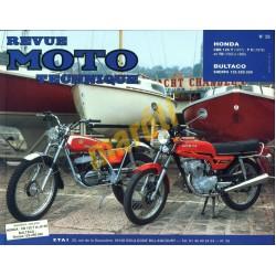 Honda CBR125T, TII, TD, Bultaco Sherpa 125-250-350