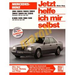 Mercedes-Benz 200/200E/260E/280E/300E/300E-24/320E 1984 bis Juni 1995  (Javítási kézikönyv)