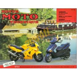 Yamaha YP 125R, MBK YP125R, Honda VFR 800FI