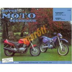 Kawasaki KDX 125 SR Honda CB 500
