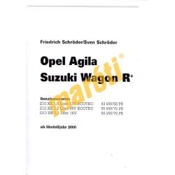 Opel Agila Benzin / Suzuki Wagon R+ 2000- (Javítási kézikönyv)