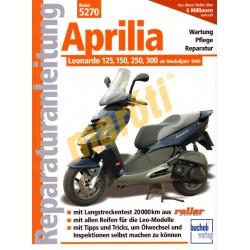 Aprilia Leonardo 125, 150, 250, 300 (Javítási kézikönyv)
