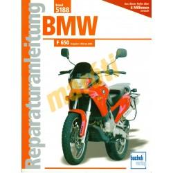 BMW F 650 (Javítási kézikönyv)