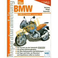 BMW F 650 CS Scarver (Javítási kézikönyv)