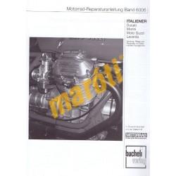 ITALIENER Ducati, Morini, Moto Guzzi, Laverda (Javítási kézikönyv)